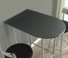 Counter Height Table Only Side Tables for Small Spaces Apartment Kitchen Bar Pub