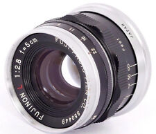 FUJI FUJINON L 1:2.8 f=5cm LEICA LTM fit Lens Made in Japan for Leica IIIg 3F Ic