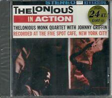 Monk, Thelonious Quartet Thelonious In Action In 24 Karat Gold CD Riverside Neu