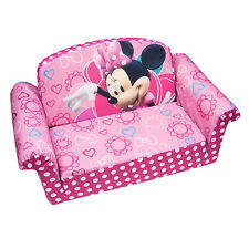 Disney's Minnie Mouse Bow-Tique Children's Furniture 2 in 1 Flip Open Chair Sofa