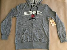 $64 Element Men's Zip Up Hoodie Grey Heater Size L