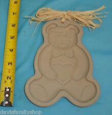The Pampered Chef Ltd 1991 Teddy Bear Shortbread Cookie Mold