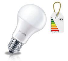 Philips LED Light Bulb Lamp E27 Edison Screw 9.5W A60 WHITE 3000k 220 - 240V