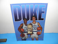 NCAA Duke University Vintage Mens Basketball 1991-92 Yearbook