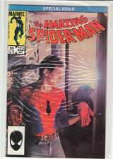 AMAZING SPIDERMAN #262 unmasked photo cover 8.0