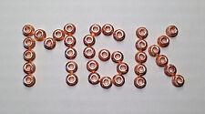 Kupfermutter M6 mit Bund, Ganzmetallmutter, mit Klemmung   10 Stück