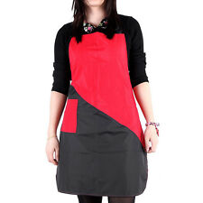 Professional Salon Haircut Apron Hairdressing Cloth for Barber Capes Red Black