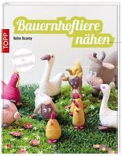 Bauernhoftiere nähen von Nadine Bazantay (2014, Taschenbuch)