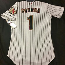 Authentic! Majestic, 54 2XL, HOUSTON ASTROS, CARLOS CORREA ON FIELD, Jersey