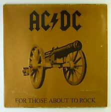 "12"" LP - AC/DC - For Those About To Rock We Salute You - k5240"