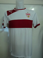 STUTTGART S/S UNSPONSORED HOME SHIRT BY PUMA SIZE MEDIUM BRAND NEW WITH TAGS