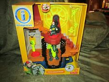 Fisher Price Imaginext Castle Wizard Tower 2013 Action Tech Dragon Set Sounds