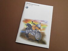 BMW r1150gs manuale d'uso
