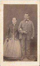 CDV photo Feines Paar - Österreich 1870er