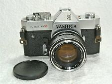 Yashica TL Electro X 35mm SLR Film Camera with 50 mm lens kit