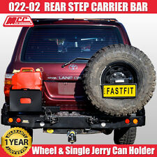 MCC4x4 Wheel Carrier & Jerry Can Holder Rear Step Bar Toyota Land Cruiser 105