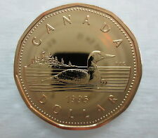 1995 CANADA LOONIE PROOF-LIKE ONE DOLLAR COIN