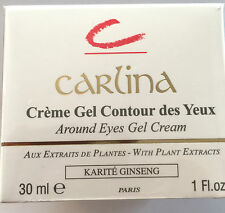 Crème Gel Contour des Yeux Karité & Ginseng CARLINA 30 ML