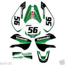 NG RACING KAWASAKI KLX110 KLX 110 VINYL Motocross Graphic Kit 2002-2009