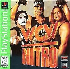 WCW Nitro - GREATEST HITS (Sony PlayStation 1, 1998) PS1 GAME COMPLETE