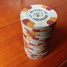 20 Grey NCV Paulson Private Card Room Poker Chips#4