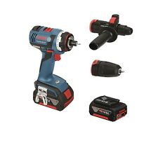 Bosch Brushless Motor GSR 18V-EC FC 2 3-in-1 FlexiClick Drill Driver System Kit