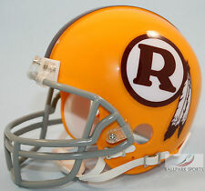 WASHINGTON REDSKINS (1970-71 Throwback) Riddell VSR4 Mini Helmet