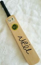 MICHAEL CLARKE SIGNED MINI CRICKET BAT COA AUSTRALIA WORLD CUP CAPTAIN ASHES