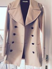 NWT BALENCIAGA Made In France Wool Blend Double Breasted Coat FR 36/4 US $2799
