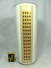 Rich decorated 70´s design Heinrich & Co. Porzellan porcelain vase 1751 / 1 29cm
