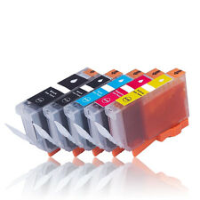 5x Tinte Patrone für CANON iP4500 iP5200 iP5200R iP5300 iX4000 iX5000 mit Chip