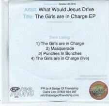 (BQ472) What Would Jesus Drive, The Girls Are In Charge EP - DJ CD