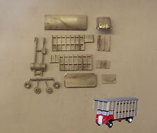 P&D Marsh N Gauge N Scale E94 ERF cattle lorry kit requires painting