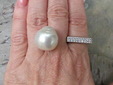 "Genuine Paspaley South Sea Loose Pearl ""Fine"" Quality 18 MM Circle Shape NEW"