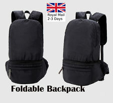 Unisex Waterproof Foldable Travel Satchel Backpack/Bum Bag School Rucksack