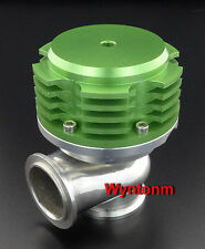 44MM Wastegate 7 PSI Turbo Stainless Steel V Band Dump Valve GREEN