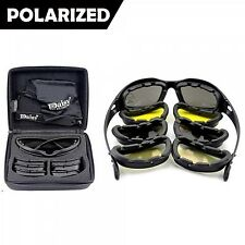 Army Sunglasses Kit Polarized Glasses Tactical War Game Military Outdoor Sport