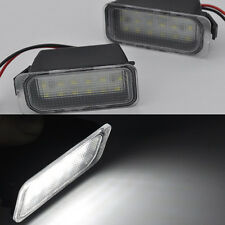 2x bright LED License number Plate Lights For Ford Escape kuga 2008-2012 fiesta