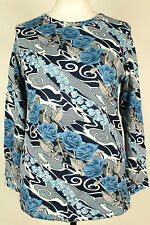 NEW WOMEN  TUNIC BLOUSE size 12/14 TOP  LONG SLEEVE  LADIES     2531