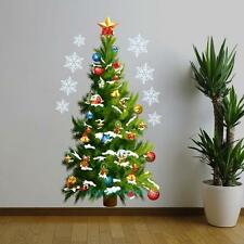 Large Removable Decal Mural Christmas Tree Home Living Room Decor Wall Sticker