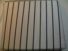 Ralph Lauren Palm Harbor Stripe Queen Fitted Sheet White Blue Stripe New