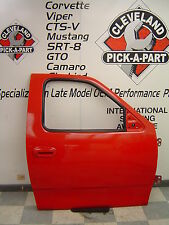 98-04 Ford F150 F-150 Lightning SVT OEM RH Passengers Front Door Assembly Red