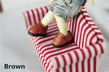 M-Style BJD Shoes16cm Lati Yellow Basic Doll size student Shoes (XSP)