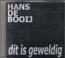 Hans De Booij-Dit Is Geweldig Promo cd single