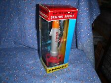Vintage T.N Nomura Battery Operated Orbiting Rocket Apollo 8 Appears Unplayed Wi