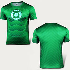 Mens Casual Sports T-Shirt Marvel Superhero Costume Top Tee Jersey Gym Run Shirt
