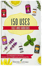 Young Living MINI BOOK Essential Oils 150 USES FAST and & FABULOUS guide booklet