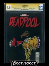 CGC 9.6 SIGNED - DEADPOOL #45 (1:50) SKOTTIE YOUNG RUN THE JEWELS VARIANT