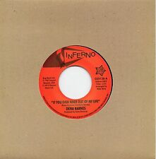 DENA BARNES   IF YOU EVER WALK OUT OF MY LIFE / WHO AM I   UK INFERNO/OUTTASIGHT