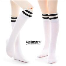 Dollmore MSD - Line Knee socks(White)
